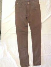 Invictus - pantaloni marroni - Taglia XS - 96,9% cotone 3,1% elastan - USATI