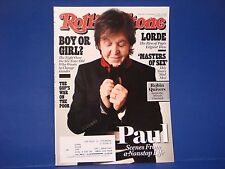 Rolling Stone Magazine,November 7,2013,Paul McCartney Robin Quives Masters Sex