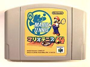 Mario Tennis 64 Nintendo 64 2000 Japanese Game Very Good! U.S Seller