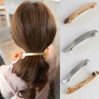 Frauen Mädchen Haarspange Einfache Haarnadel Haarspange Haarschmuck Grip F9M6