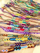 Woven Friendship Bracelets Wholesale Set of 12 Cotton Bracelet, Party Favours