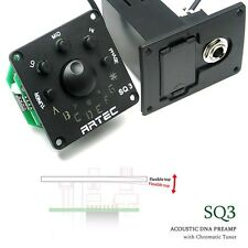 Artec SQ3 3 Band Equalizer preamp with chromatic LED tuner E67