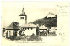 CPA 73 Savoie La Rochette Vue générale et Château