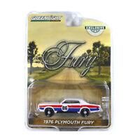 """Greenlight 30156 Plymouth Fury #76"""" weiss/blau/rot Maßstab 1:64 Modellauto NEU!°"""