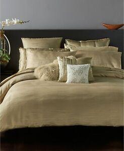 Donna Karan Home Reflection Gold Dust  Full/Queen Duvet Cover