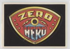 1983 General Mills Zero Heroes #NoN Header Card Non-Sports 0a3