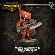 Warmachine: Khador Man-O-War Kovnik Solo PIP 33024 NEW