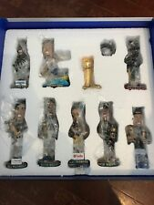 2017-18 Golden State Warriors Promotional Set feat 8 bobbleheads, ring, trophy!