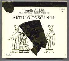 VERDI - AIDA - TOSCANINI - MINT 3 CD BOX SET