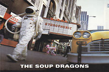 "THE SOUP DRAGONS ""Hydrophonic"" 4""x6"" PROMO Postcard STICKER"
