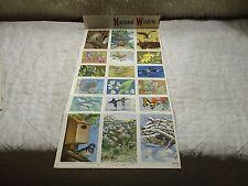 Wildlife Conservation Stamp Album Stamps for 1957 National Wildlife Federation