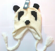 Panda Bear Animal Beanie Hat One Size - Free P&P