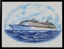 Original Art Work ...ms ADVENTURE of the SEAS ...cruise ship... RCI