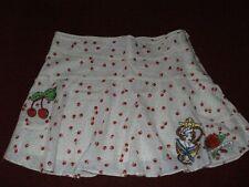 Small Laura Lees 4 TopShop CHERRIES Rockabilly Skirt Polka Dot Mini Skirt BNWT