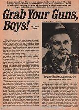 Grab Your Guns, Boys -  B'Ugoettin Begay, Dunham, Durham, Gray Fox, Hochdoffer