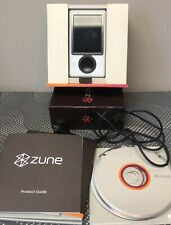 New Listing2006 Microsoft Zune 30 Gb White Wi-Fi Fm Radio Aac Wma Mp3 Dig Media Player