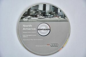 Audi RNS-E navigation DVD 2012 2013 BJ North America A3 A4 A6 S4 RS4 Allroad TT