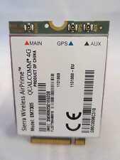 Sierra Wireless AirPrime, EM7305 PCI-E M.2 Unlocked, 3G 4G LTE HSPA+ GPS 100Mbps