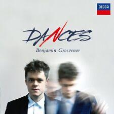 BENJAMIN GROSVENOR - DANCES  CD NEW+ BACH/CHOPIN/SCRIABIN/GRANADOS/ALBENIZ/+