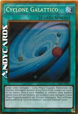 Cyclone Galattico ☻ Oro ☻ PGL3 IT087 ☻ YUGIOH ANDYCARDS