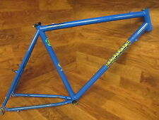 "INDEPENDENT FABRICATION IF DELUXE STEEL 26"" CANTILEVER BRAKE MTB FRAME 19"""