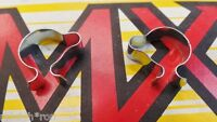 2 NOS Vintage Sears Screamer Muscle Bike Bicycle Brake Shift CABLE CLIPS
