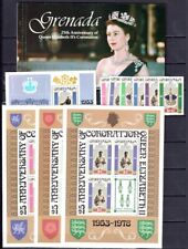 Grenada 1971-1986 MNH Sets, Souvenir Sheets CV $99.25