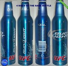 2011 UFC CAGE ULTIMATE FIGHT CHAMPION BUD LIGHT CANADA ALUMINUM BEER BOTTLE-CAN