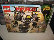LEGO NINJAGO THE MOVIE QUAKE MECH DAMAGED BOX SALE !! UNOPENED NEW