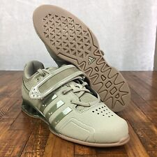 8cec38ba1c8d Adidas Adipower Perfect 3 Weightlifting Shoes Camo Green Khaki DA9874 Men  Size 8