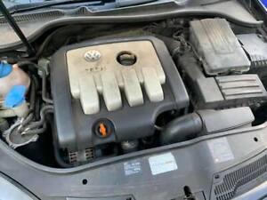 VW GOLF MK5 AUDI SEAT 2.0 TDI BKD COMPLETE ENGINE & TURBO