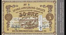 Groenland 2017  Bankbiljetten op postzegel 2  blok-m/s    postfris/mnh.