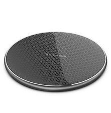 10W QI Wireless Ladegerät Kabellos Charger Ladestation für iPhone Samsung Huawei