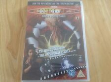 DR WHO DVD FILES STORY - DISC 11 SERIES 2 EP 7 & 8 - 10TH DR TENNANT OOD