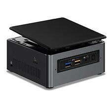 Intel NUC NUC7i3BNH BGA 1356 2.40GHz i3-7100U UCFF Black Grey Barebones PC/Works