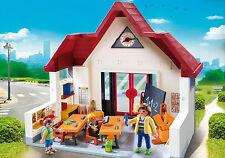 Playmobil 6865 Schoolhouse school classroom students kids NEW BOXED Worldwide