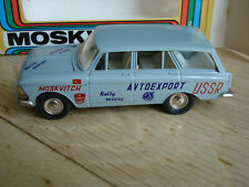 Moskvitch Kombi 1:43 Rally Service OVP USSR  CCCP sehr guter Zustand