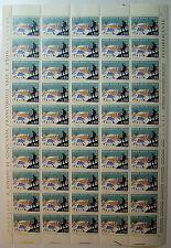 1972 ITALIA 50 lire   Società Alpinisti Tridentini    foglio intero MNH**