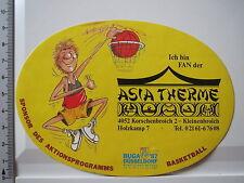 Aufkleber Sticker Asia Therme Korschenbroich Asien (3952)