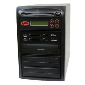SySTOR 1-2 MultiMedia PLUS - Flash Memory to Disc Backup+DVD Duplicator