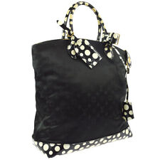 LOUIS VUITTON DOTS LOCKIT VERTICAL MM HAND BAG KUSAMA M40682 FO2112 AK35571i