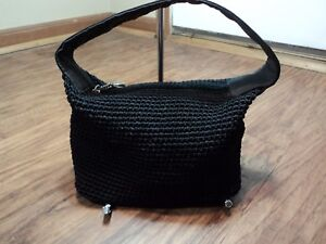 The Sak Signature Black woven Mini Hobo, Excellent Condition, Adorable