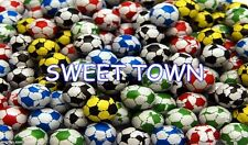 CHOCOLATE FOOTBALLS Children's Birthday Party Bag Filler Sweets 50 Boys Party