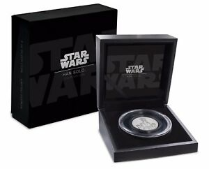 2017 Star Wars Han Solo™ Ultra High Relief 2 oz Silver Coin - 2nd coin