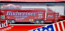 1996 Racing Champions Budweiser Premier 1:64 Scale Transporter w/ Stock Car Mint