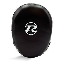 Ringside Leather Impact Air Focus Pads Boxing Mitts Kick Muay Thai MMA Sparring