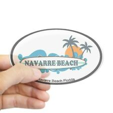 Navarre Beach Vintage Look Personalized Metal Sign Chic 4x18 104180008192