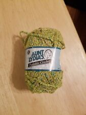 Aunt Lydia's Twinkles Crochet Lime Green Art 185 yarn Sewing Arts & Crafts Skein