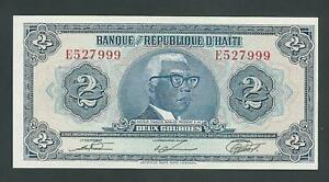HAITI  2 GOURDES 1979  P- 231  UNC