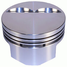 "DSS Racing 8700-4000 E Series -5cc Flat 4.000"" Forged Pistons for Chevy 350 SBC"